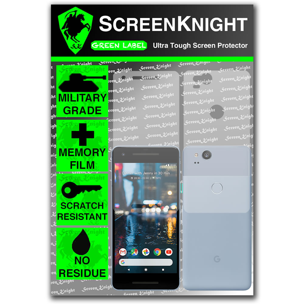 Google Pixel 2 Screen Protector - Military Shield - Full Body