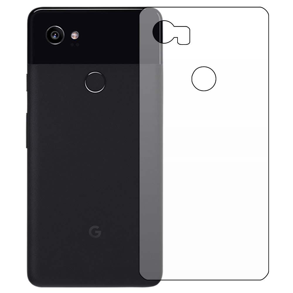 Google Pixel 2 XL Screen Protector - Military Shield - Back