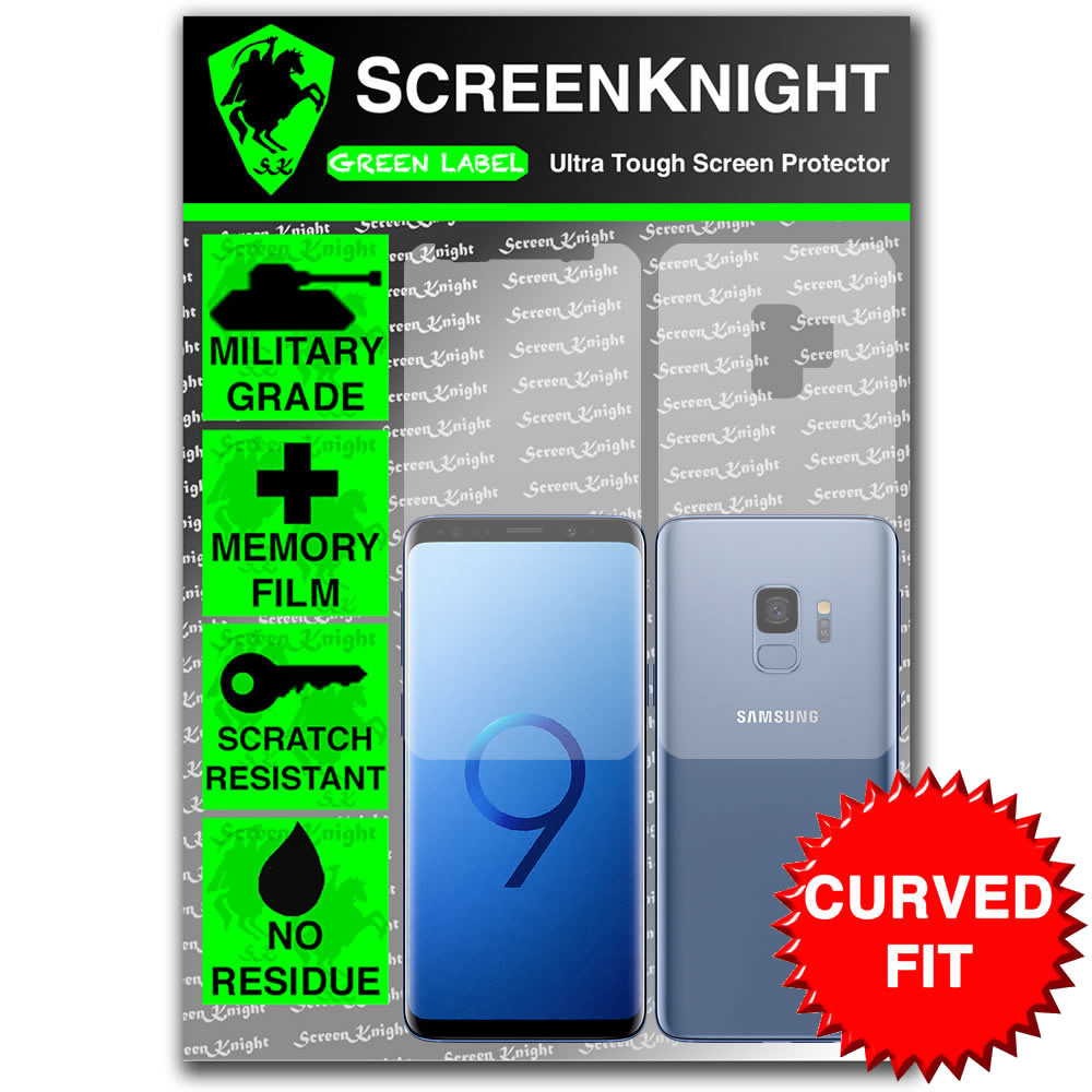 Samsung Galaxy S9 Screen Protector - Military Shield