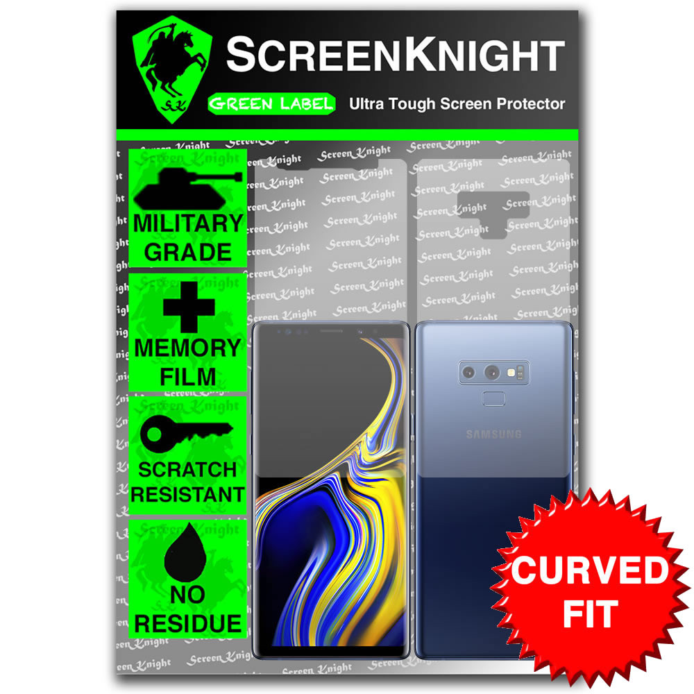 Samsung Galaxy Note Screen Protector - Military Shield - Full Body