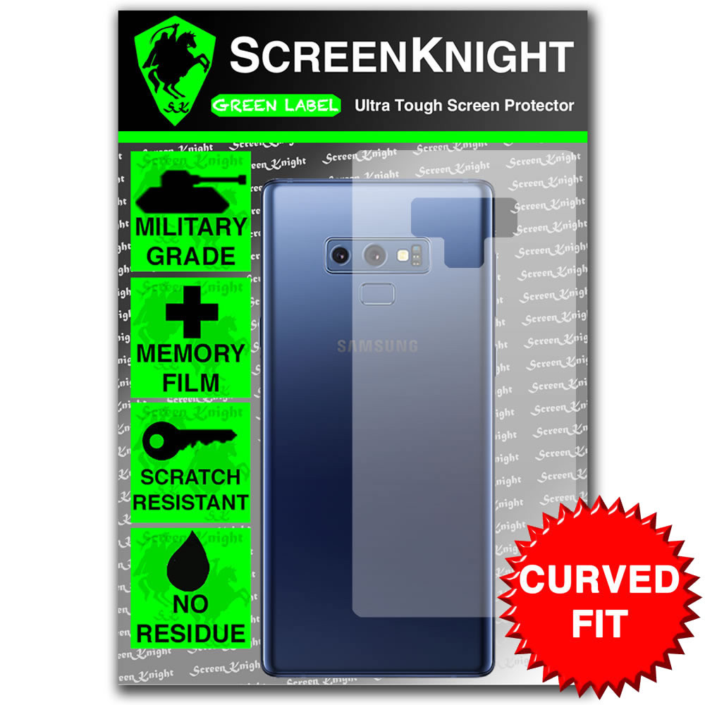 Samsung Galaxy Note Screen Protector - Military Shield - Back