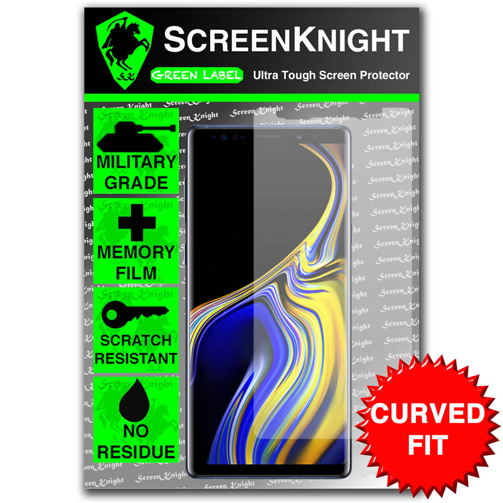 Samsung Galaxy Note Screen Protector - Military Shield - Front