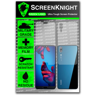 Huawei P20 Screen Protector - Military Shield Full Body