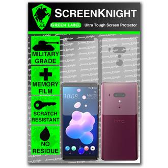 HTC U12 Plus Screen Protector - Military Shield Full Body