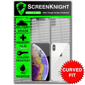 iPhone X Screen Protector - Military Shield  - Full Body