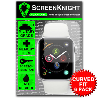 Apple Watch Series 4 - 40mm Screen Protector - Military Shield - 6 pack