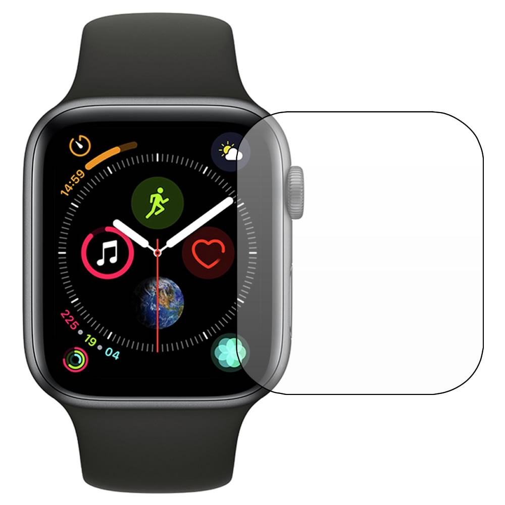 promo code 992c9 607d2 Apple Watch Series 4 - 44mm Screen Protector - Military Shield
