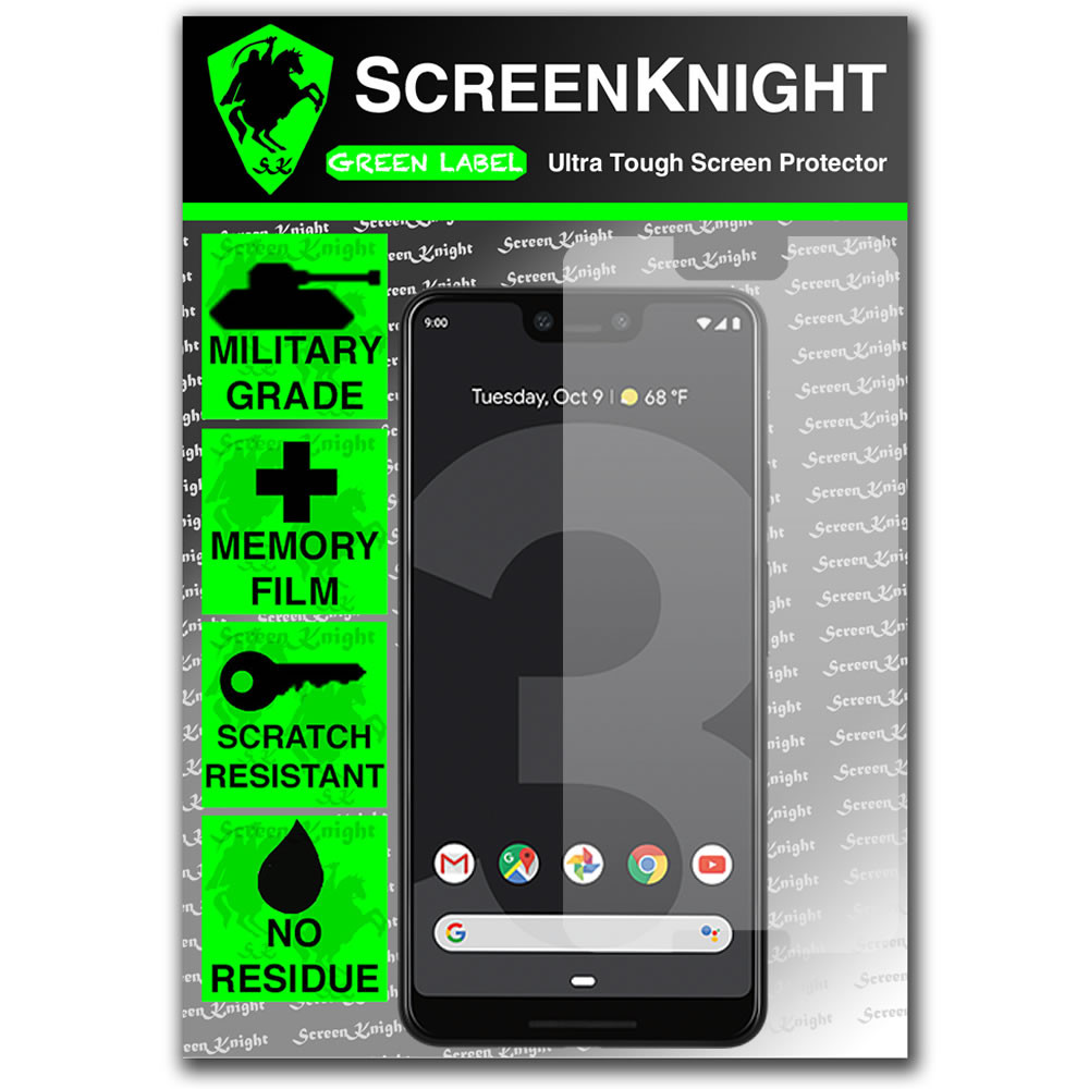 Google Pixel 3 XL Screen Protector - Military Shield - Front