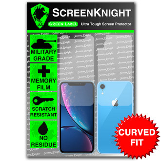 iPhone XR Screen Protector - Military Shield - Fullbody