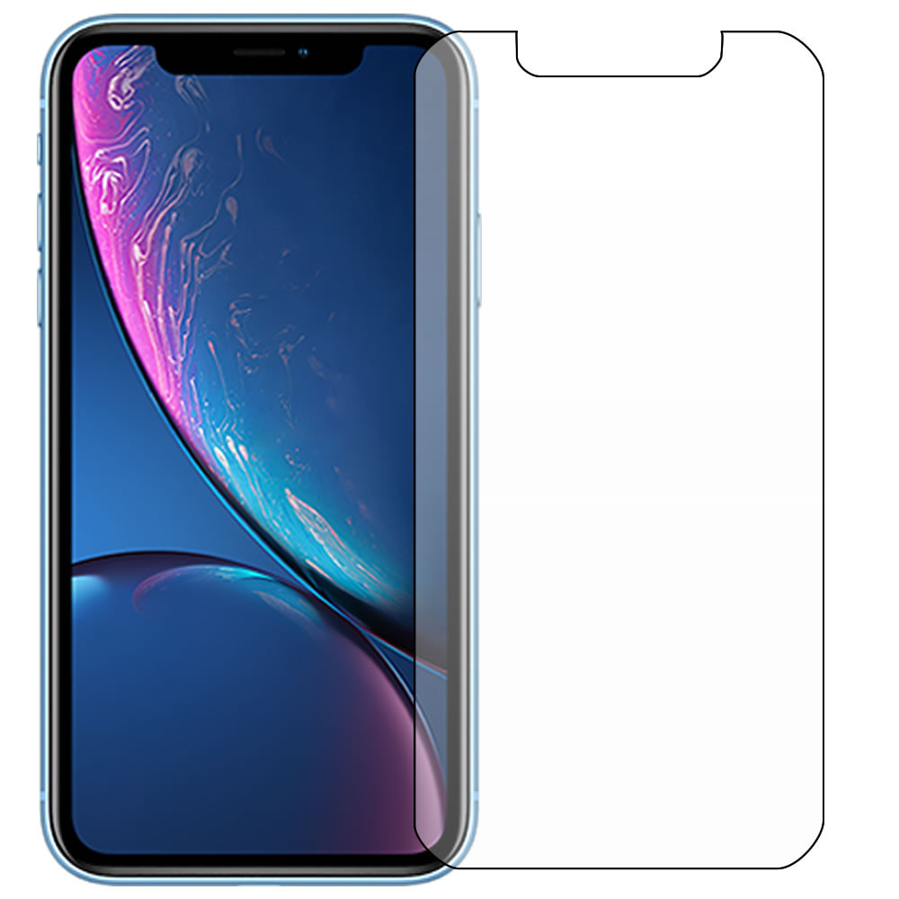 iPhone XR Screen Protector - Military Shield - Front