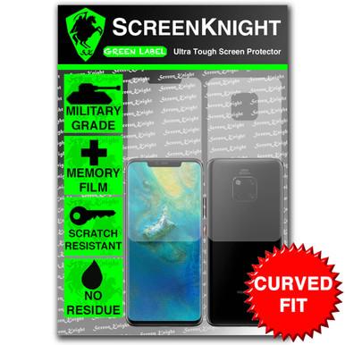 Huawei Mate 20 Pro Screen Protector - Military Shield - Full Body