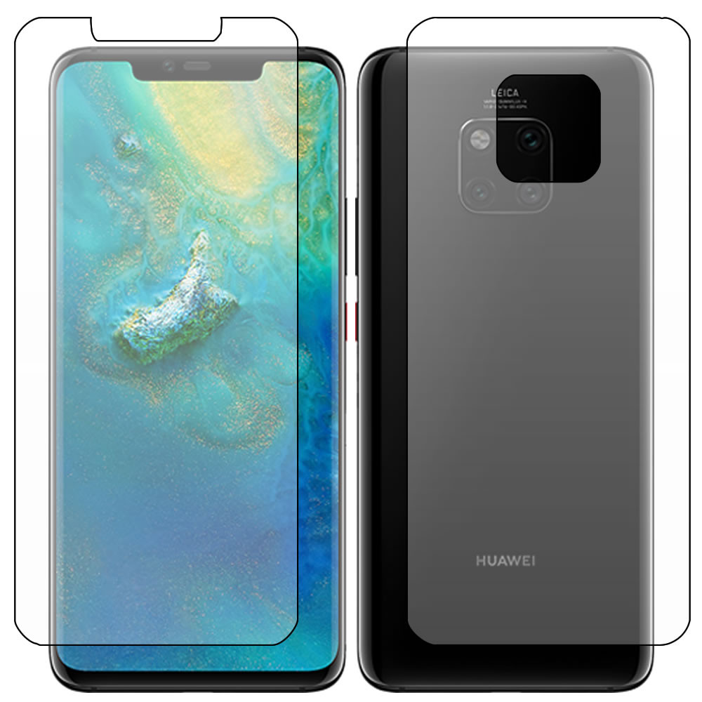 Huawei Mate 20 Pro Screen Protector - Military Shield  - Full Body