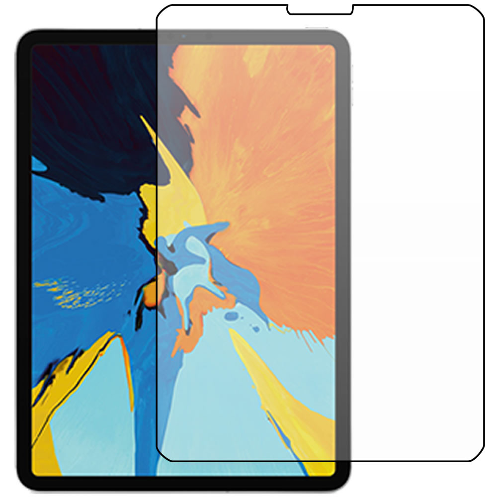 """iPad Pro 11"""" (3rd Gen - 2018) Screen Protector - Military Shield - Front"""