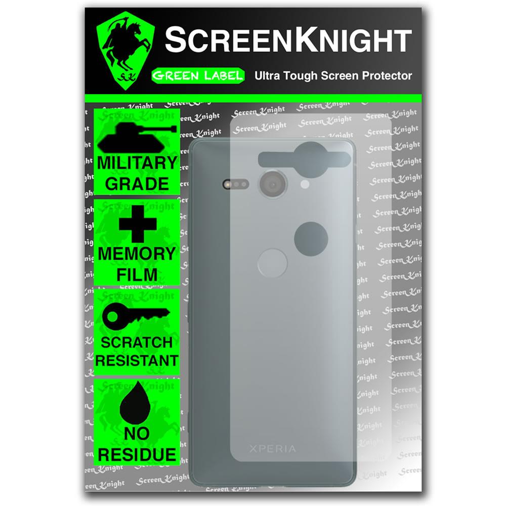 Sony Xperia XZ2 Compact Screen Protector - Back