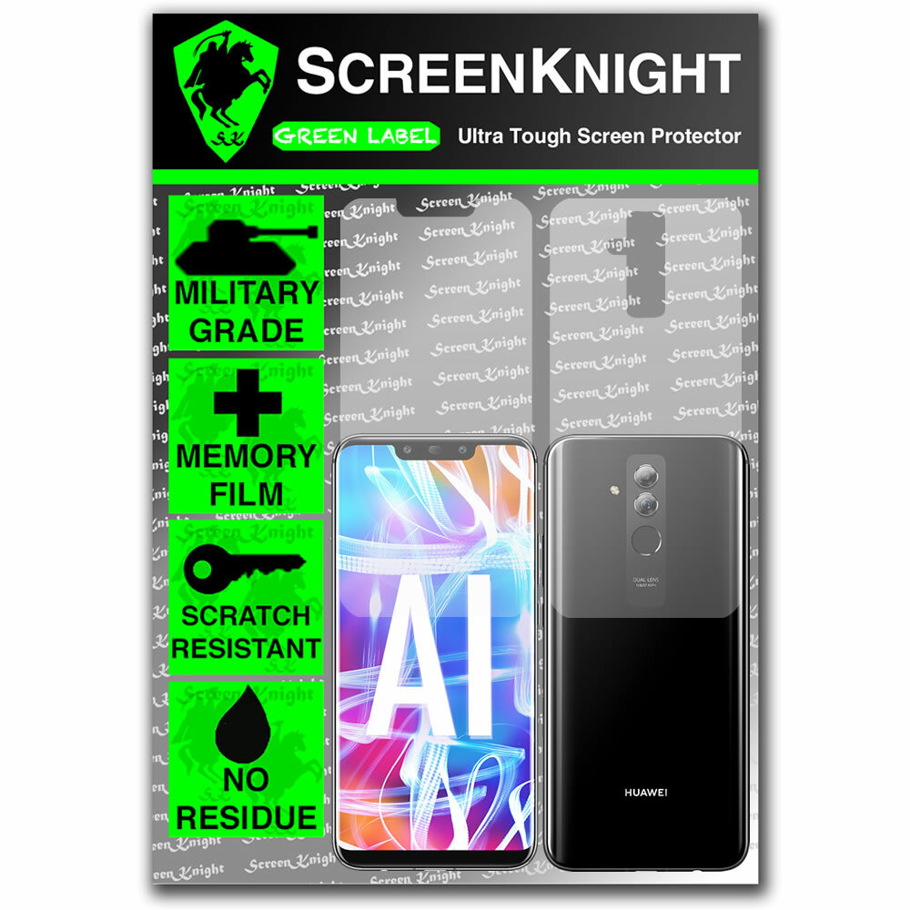 Huawei Mate 20 Lite Screen Protector - Military Shield - Fullbody