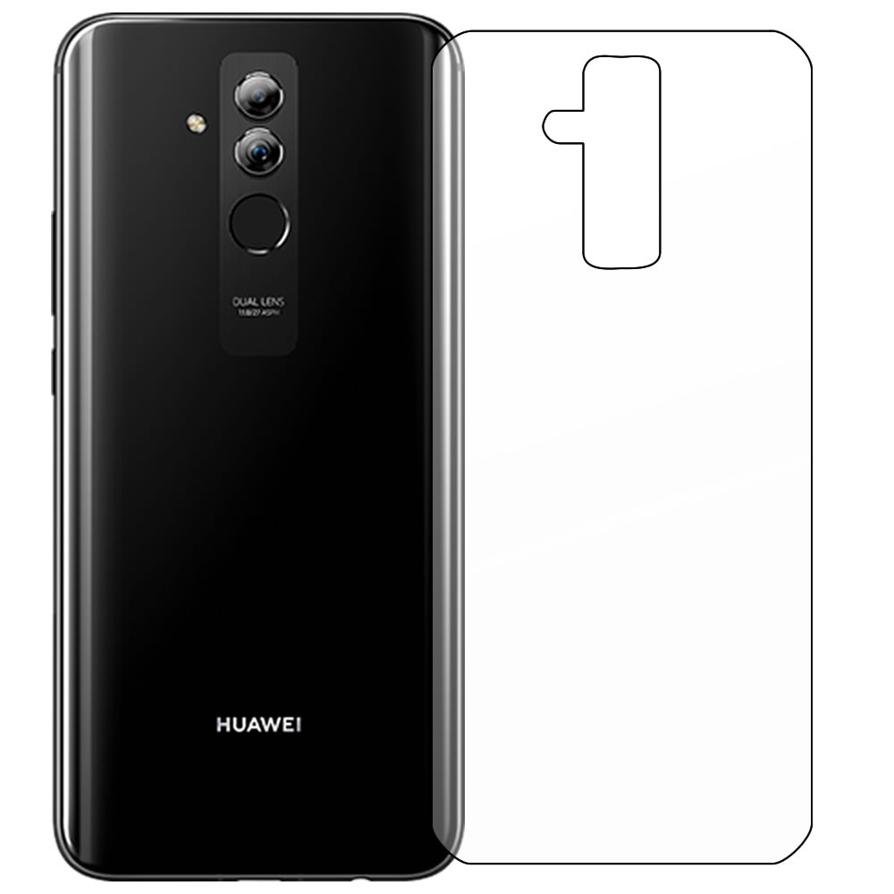 Huawei Mate 20 Lite Screen Protector - Military Shield - Back