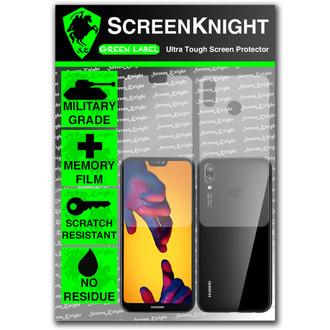 Huawei P20 Lite Screen Protector - Military Shield - Full Body