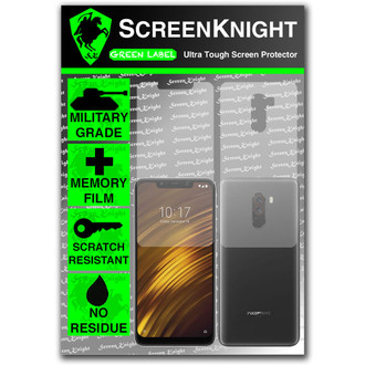 Xiaomi Pocophone F1 Screen Protector - Military Shield