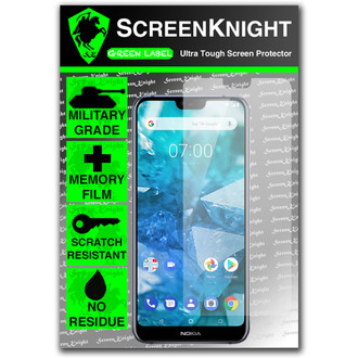 Nokia 7.1 Screen Protector - Military Shield