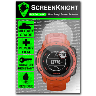 Garmin Instinct - Screen Protector - Military Shield