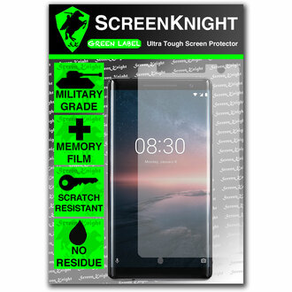 Nokia 8 Sirocco Screen Protector - Military Shield