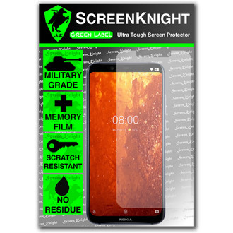 Nokia 8.1 Screen Protector - Military Shield