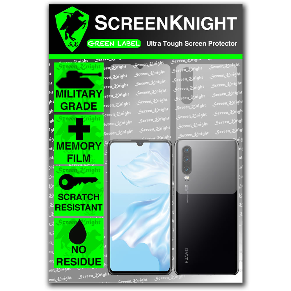 Huawei P30 Screen Protector - Military Shield