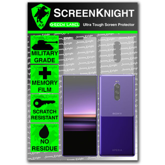 Sony Xperia 1 Screen Protector - Military Shield