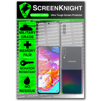 Galaxy A70 Screen Protector - Military Shield