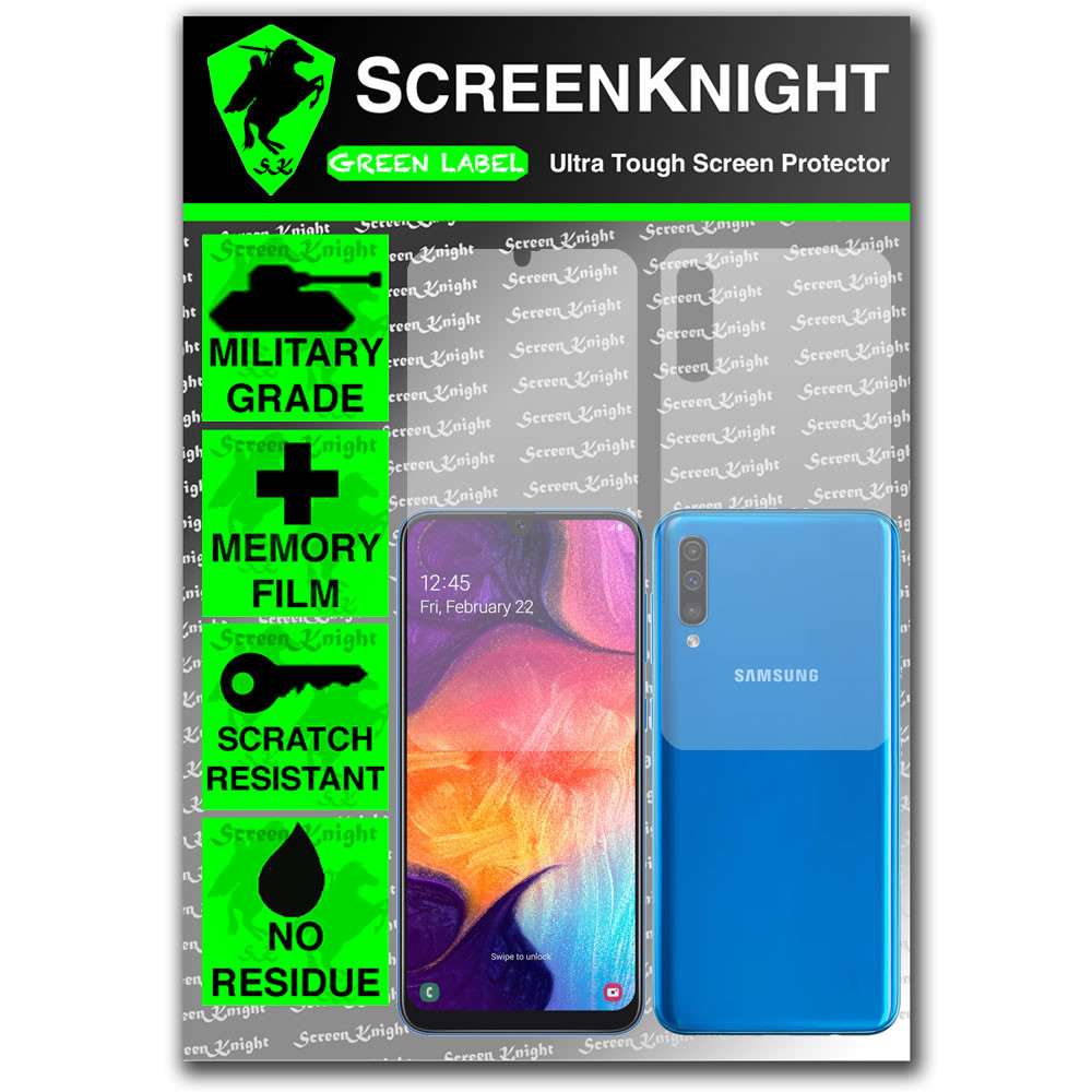 Galaxy A50 Screen Protector - Military Shield