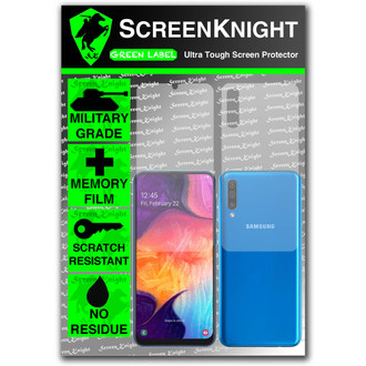 Galaxy A50 Screen Protector - Military Shield