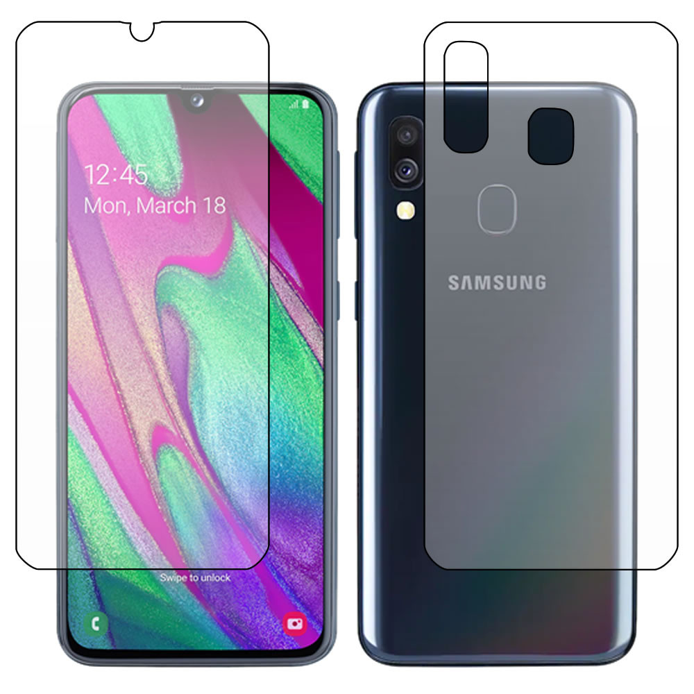 Galaxy A40 Screen Protector - Military Shield