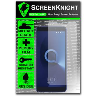 Alcatel 3V Front Screen Protector - Military Shield