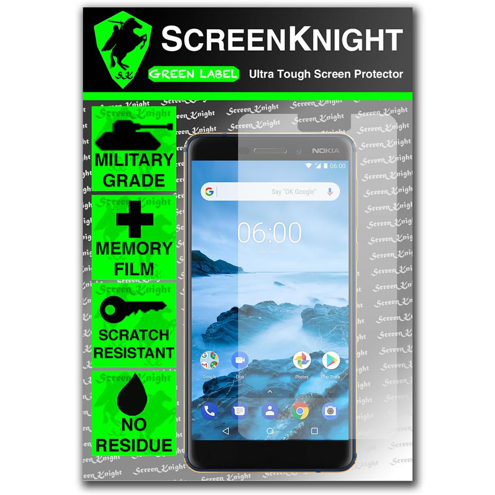 Nokia 6.1 Screen Protector - Military Shield