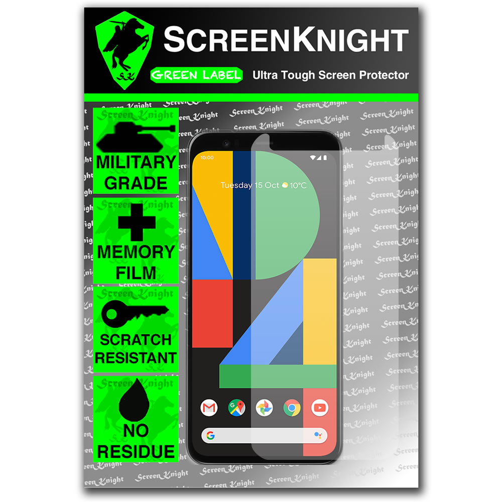 Google Pixel 4 Screen Protector - Military Shield - Front