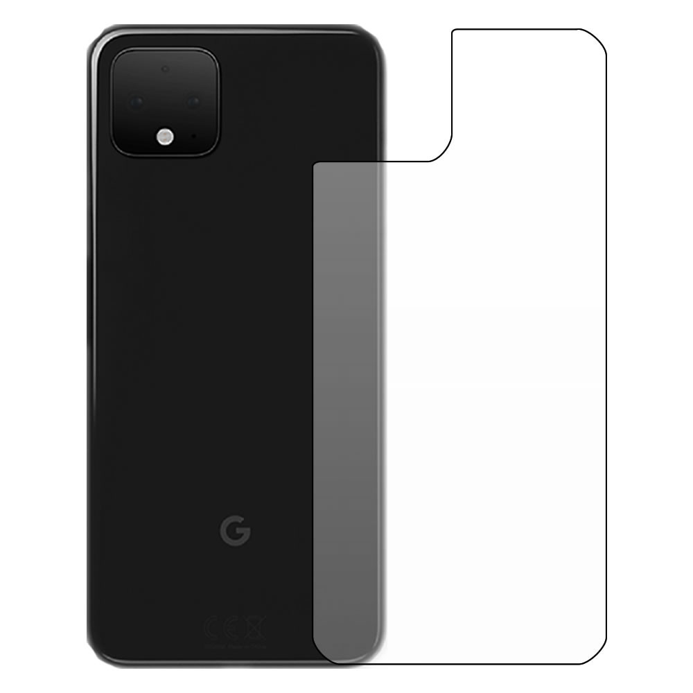Google Pixel 4 Screen Protector - Military Shield - Back