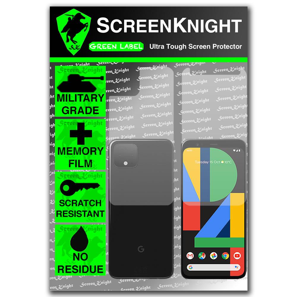 Google Pixel 4 Screen Protector - Military Shield - Fullbody