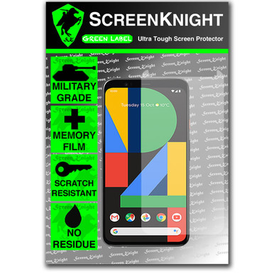 Google Pixel 4XL Screen Protector - Military Shield - Front