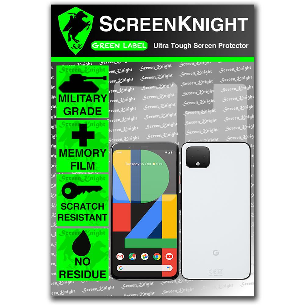 Google Pixel 4XL Screen Protector - Military Shield - Fullbody