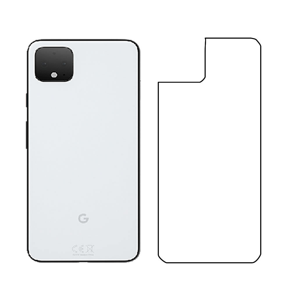 Google Pixel 4XL Screen Protector - Military Shield - Back