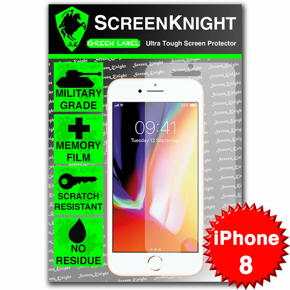 "Apple iPhone 8 / 4.7"" Tempered Glass Screen Protector - Military Shield"
