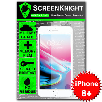 "Apple iPhone 8 Plus/ 5.5"" Tempered Glass Screen Protector - Military Shield"