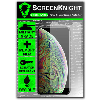 Apple iPhone XS Max Tempered Glass Screen Protector - Military Shield