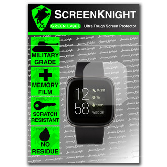 FitBit Versa 2 Screen Protector - Military Shield
