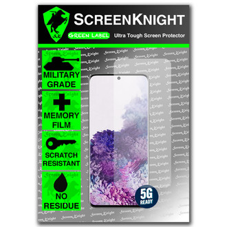 Samsung Galaxy S20 - Case Fit - Screen Protector - Military Shield