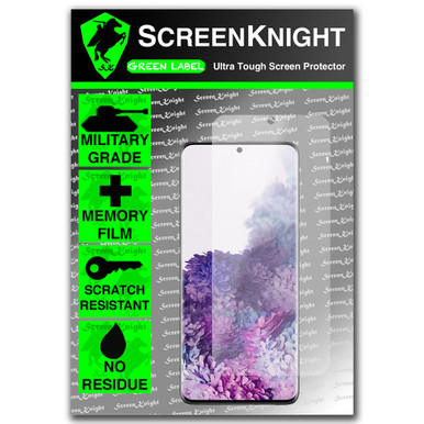 Samsung Galaxy S20 Plus - Case Fit - Screen Protector - Military Shield