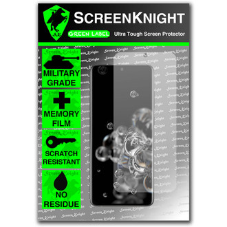 Samsung Galaxy S20 Ultra - Case Fit - Screen Protector - Military Shield