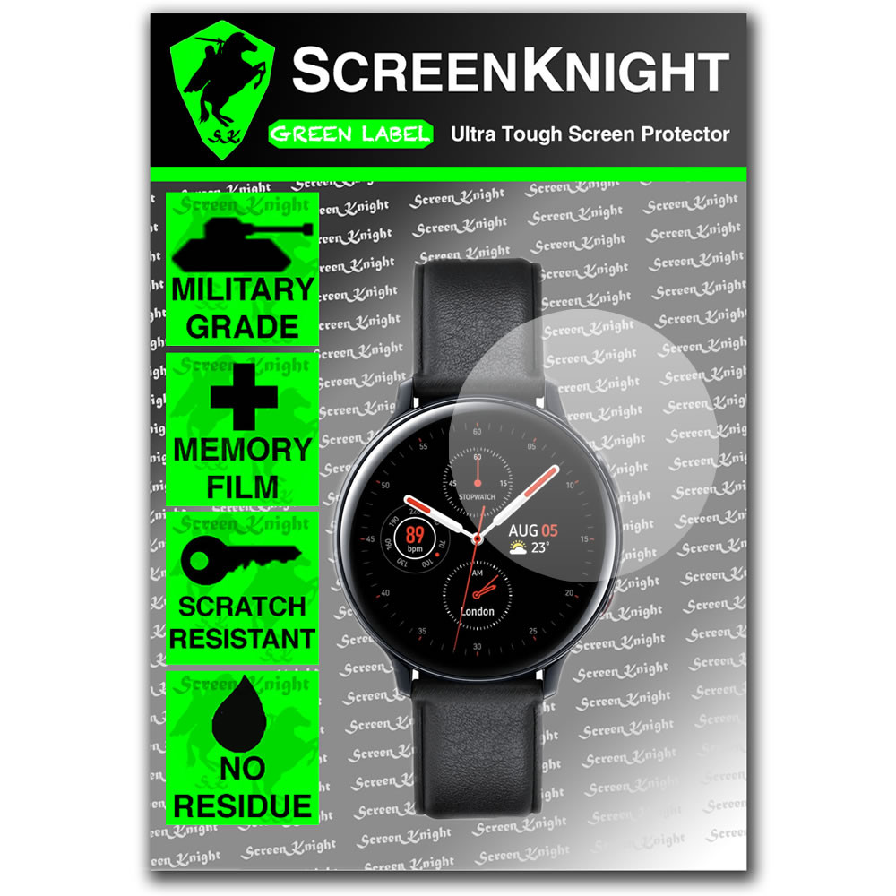 38mm - Round Watch/Smartwatch Screen Protector - Military Shield