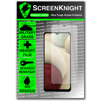 Galaxy A12 Screen Protector - Military Shield