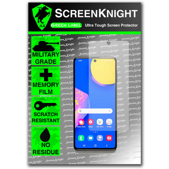 Galaxy F62 Screen Protector - Military Shield
